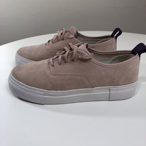 Eytys Mother Sneaker Suede Powder Pink 9